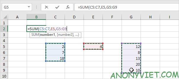 Bài 126: Liên hợp và giao nhau trong Excel 27