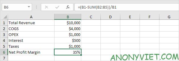 Bài 176: Tỷ suất lợi nhuận trong Excel 68