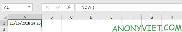 Bài 132: Cách sử dụng hàm TODAY trong Excel 28