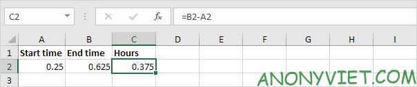 Bài 135: Tính thời gian trong Excel 31