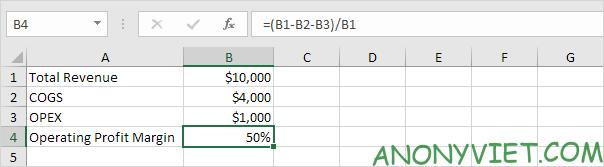 Bài 176: Tỷ suất lợi nhuận trong Excel 63