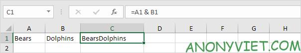 Bài 152: Cách sử dụng hàm Concatenate trong Excel 52