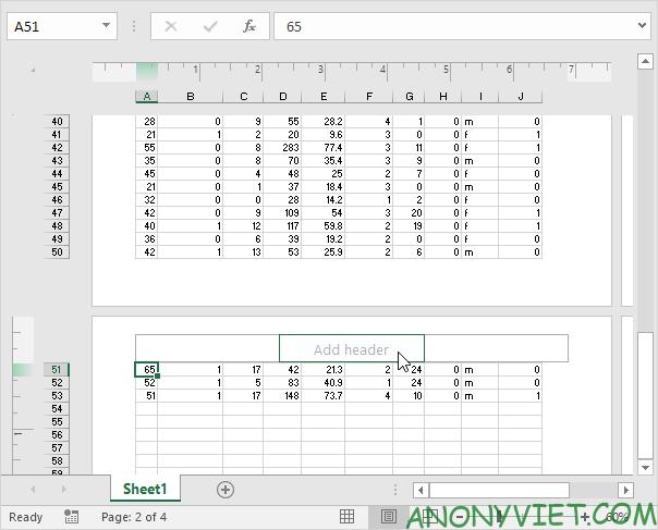 Bài 82: Các chế độ xem của Workbook trong Excel 36