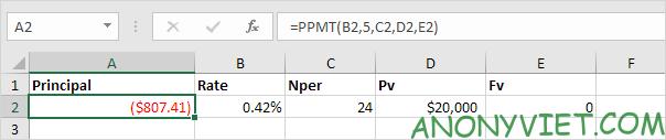 Bài 167: Cách sử dụng hàm PMT trong Excel 42