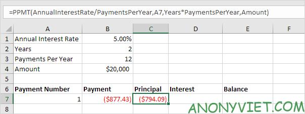 Bài 172: Lập lịch trả dần khoản vay trong Excel 28