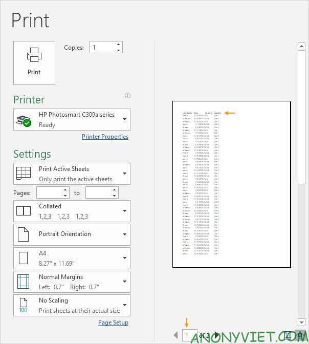 Bài 86: Cách sử dụng Print Titles in tiêu đề theo từng trang trong Excel 23