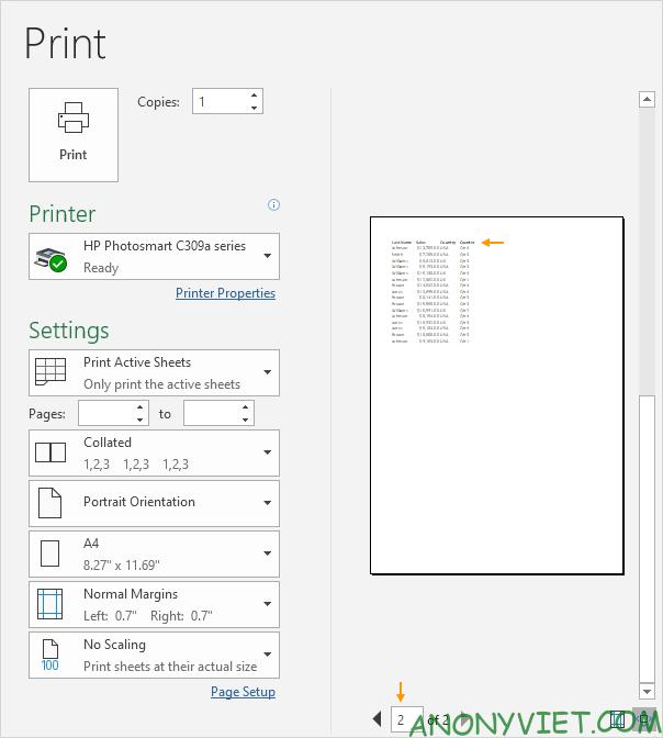Bài 86: Cách sử dụng Print Titles in tiêu đề theo từng trang trong Excel 24