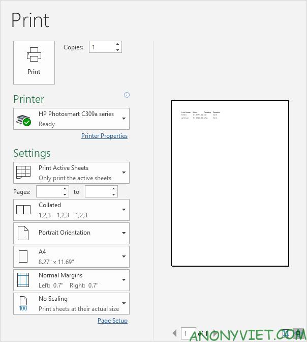 Bài 89: Cách sử dụng Print Area để chọn vùng in trong Excel 24