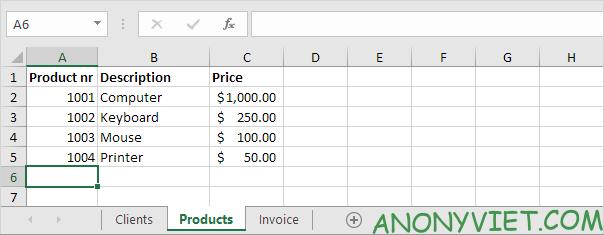 Bài 62: Cách tạo hóa đơn tự động trong Excel 31