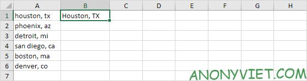 Bài 147: Cách thay đổi kiểu chữ trong Excel 30