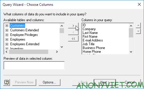 Bài 96: Cách sử dụng Microsoft Query trong Excel 43
