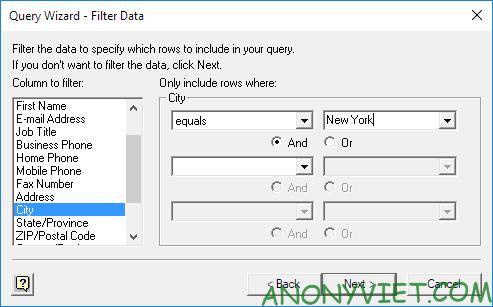 Bài 96: Cách sử dụng Microsoft Query trong Excel 44