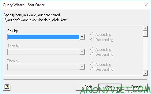 Bài 96: Cách sử dụng Microsoft Query trong Excel 45