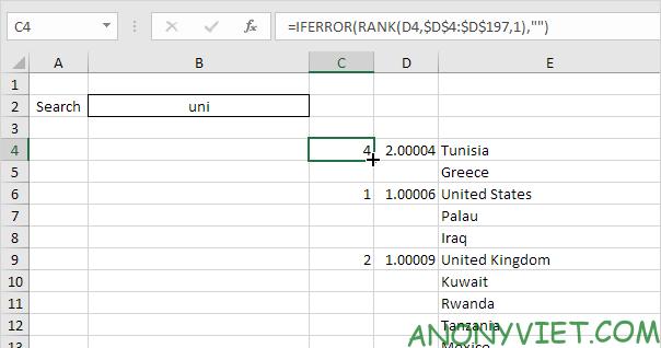 Bài 56: Cách tạo hộp thoại tìm kiếm trong Excel 30