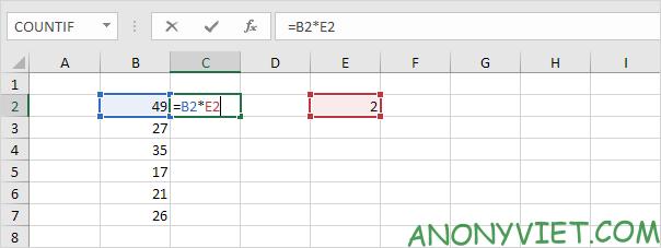 Bài 129: Tham chiếu tuyệt đối trong Excel