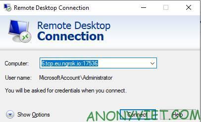 remote desktop vps win 11