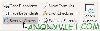 Bài 198: Nhóm Formula Auditing trong Excel 55