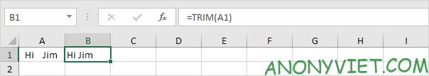 Bài 148: Cách xóa khoảng trắng trong Excel