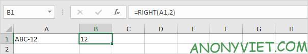 Bài 153: Cách xử lý chuỗi con trong Excel 48