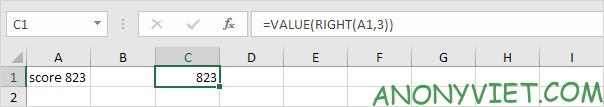 Bài 42: Cách chuyển Chữ thành Số trong Excel 40
