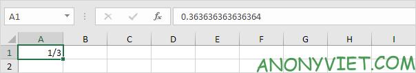 Bài 40: Cách nhập và định dạng Phân số trong Excel 33
