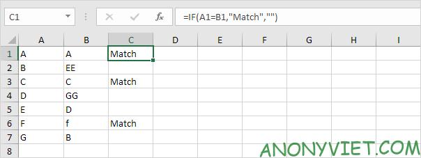 Bài 165: So sánh 2 cột trong Excel 38