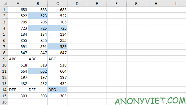 Bài 149: Cách so sánh văn bản trong Excel 24