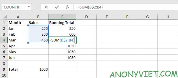 Bài 110: Cách tự động tính tổng trong Excel 34