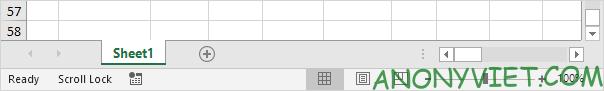 Bài 78: Cách sử dụng phím Scroll Lock trong Excel 32