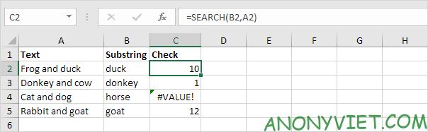 Bài 118: Kiểm tra ô chứa văn bản trong Excel