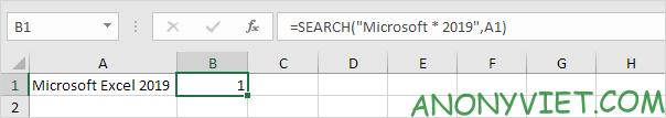 Bài 146: Cách sử dụng hàm SEARCH trong Excel 30