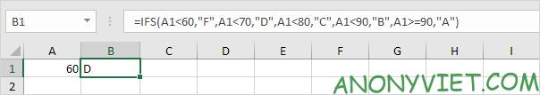 Bài 117: Cách sử dụng hàm Ifs trong Excel 41