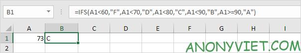 Bài 117: Cách sử dụng hàm Ifs trong Excel 42