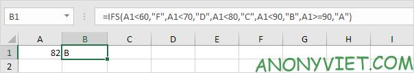 Bài 117: Cách sử dụng hàm Ifs trong Excel 43