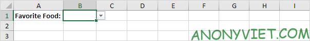 Bài 70: Cách tạo Menu xổ xuống trong Excel 111