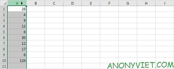 Bài 128: Cách thêm cột trong Excel 49