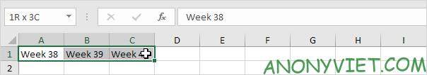 Bài 48: Cách Hợp nhất - Gộp ô trong Excel 34