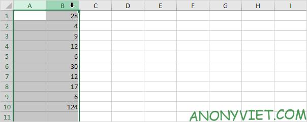 Bài 128: Cách thêm cột trong Excel 52