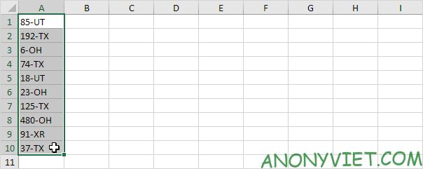 Bài 150: Hàm Substitute và Replace trong Excel 44