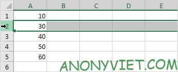 Bài 75: Cách chèn hàng trong Excel