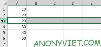 Bài 77: Cách xóa hàng trong Excel