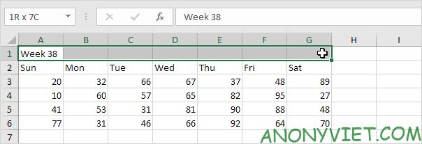 Bài 48: Cách Hợp nhất - Gộp ô trong Excel 31