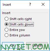 Bài 70: Cách tạo Menu xổ xuống trong Excel 102