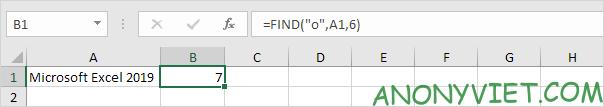 Bài 145: Cách sử dụng hàm FIND trong Excel 28