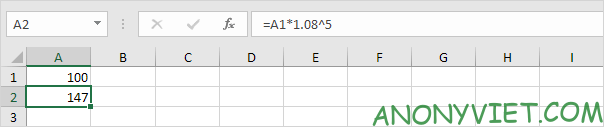Bài 171: Tỷ lệ tăng trưởng kép hàng năm trong Excel 23