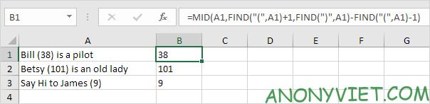 Bài 153: Cách xử lý chuỗi con trong Excel 51