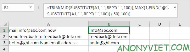 Bài 153: Cách xử lý chuỗi con trong Excel 55