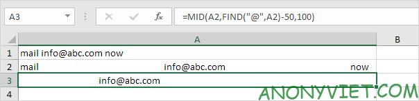Bài 153: Cách xử lý chuỗi con trong Excel 53