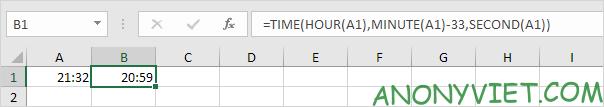Bài 139: Cộng trừ thời gian trong Excel 69