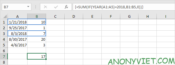 Bài 112: Cách sử dụng hàm Sumproduct trong Excel 55